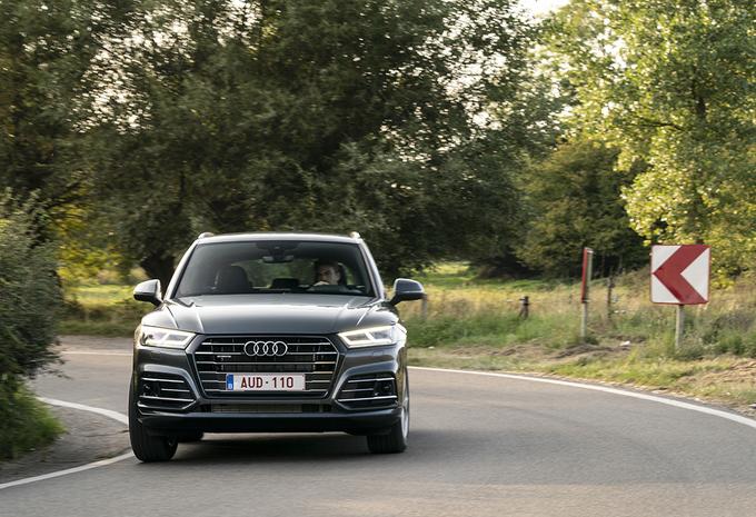 Audi Q5 55 TFSI e : De Q5 gaat aan de stekker #1