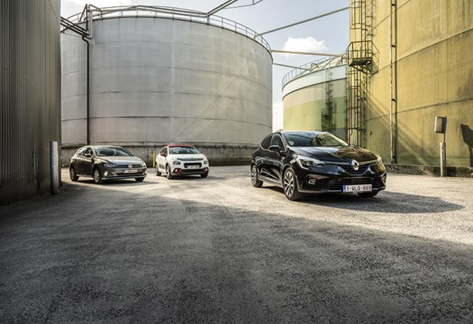 Renault Clio vs Citroën C3 & Volkswagen Polo #1
