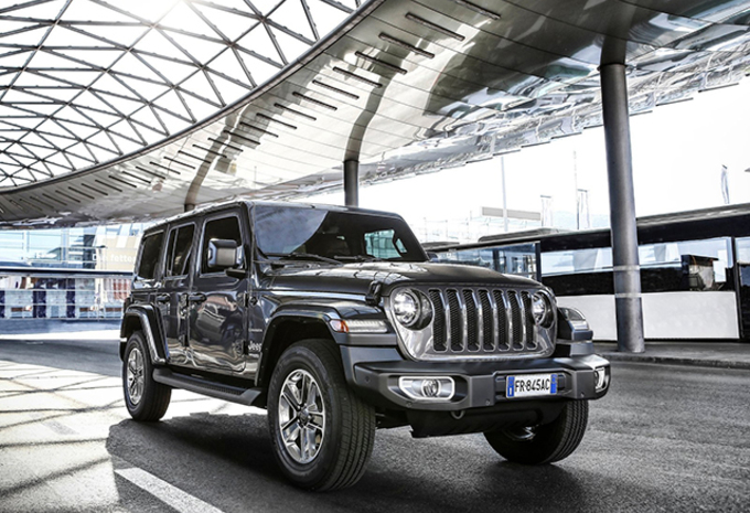 Jeep Wrangler Unlimited 2.2 Multijet II (2020) #1