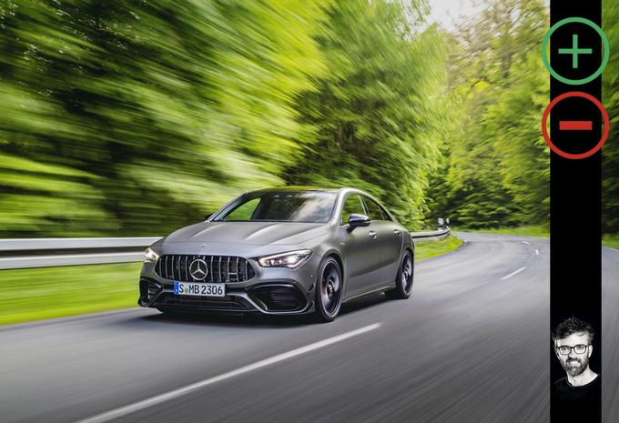Mercedes-AMG CLA 45 S : les avantages et les inconvénients #1
