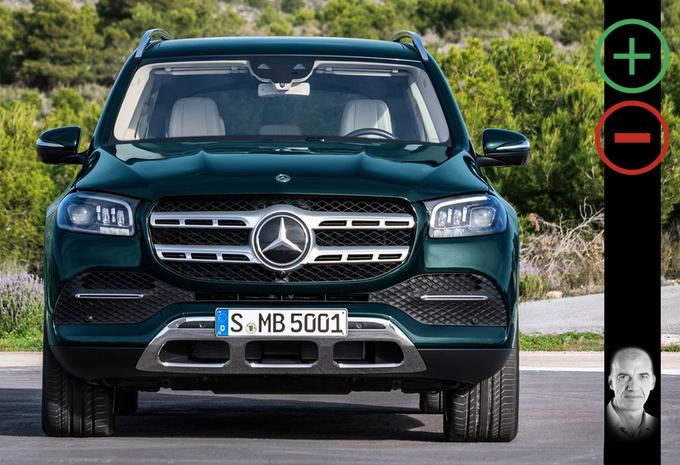 Mercedes GLS 350d: avantages et inconvénients #1