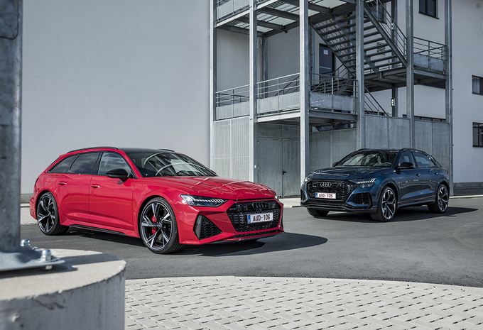 Audi RS 6 vs Audi RS Q8 : SUV/Break ultrasportifs #1