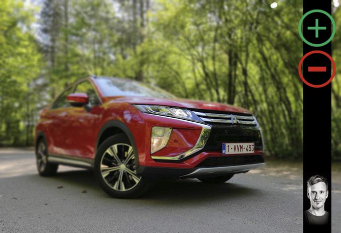 Mitsubishi Eclipse Cross : avantages et inconvénients #1