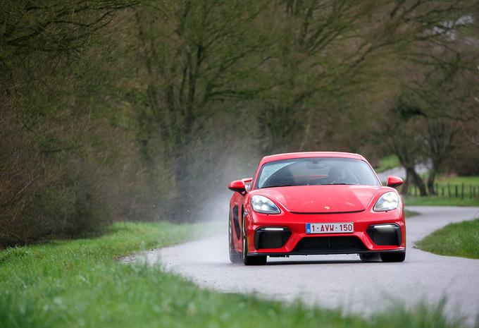 Porsche 718 Cayman GT4 :  De circuit-Cayman #1
