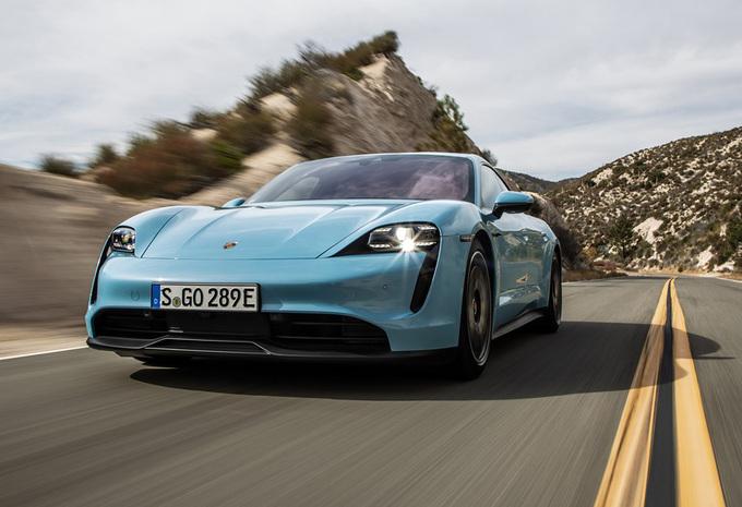 Porsche Taycan 4S Performance Plus (2020) #1