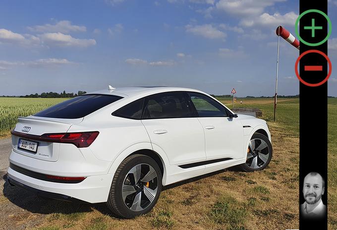 Audi E-tron Sportback: avantages et inconvénients #1